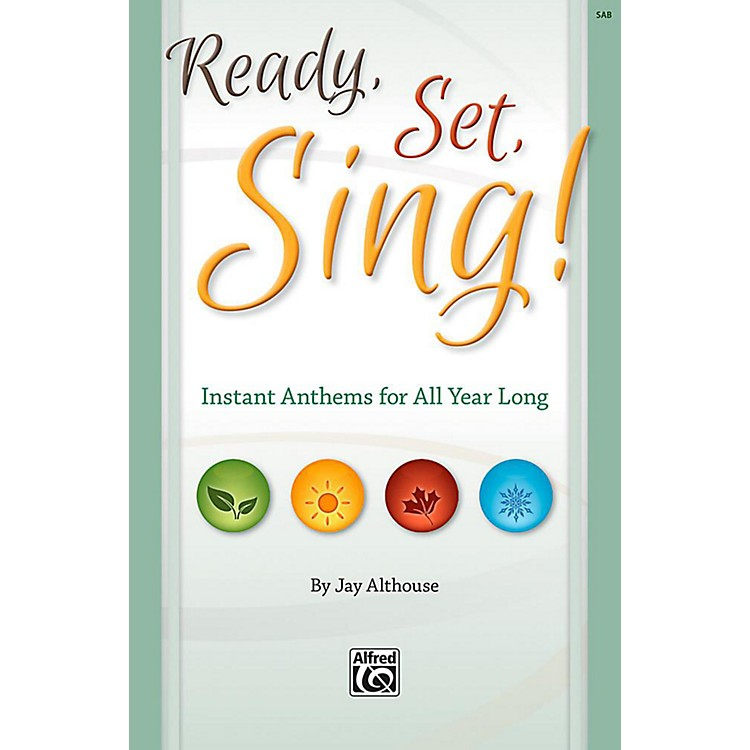 AlfredReady, Set, Sing! - Listening CD