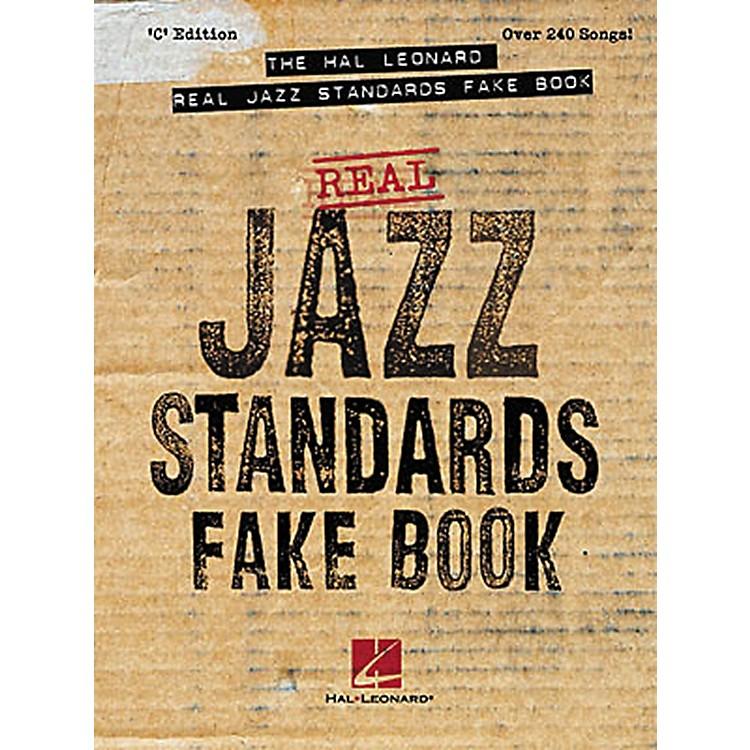 Hal LeonardReal Jazz Standards Fake Book
