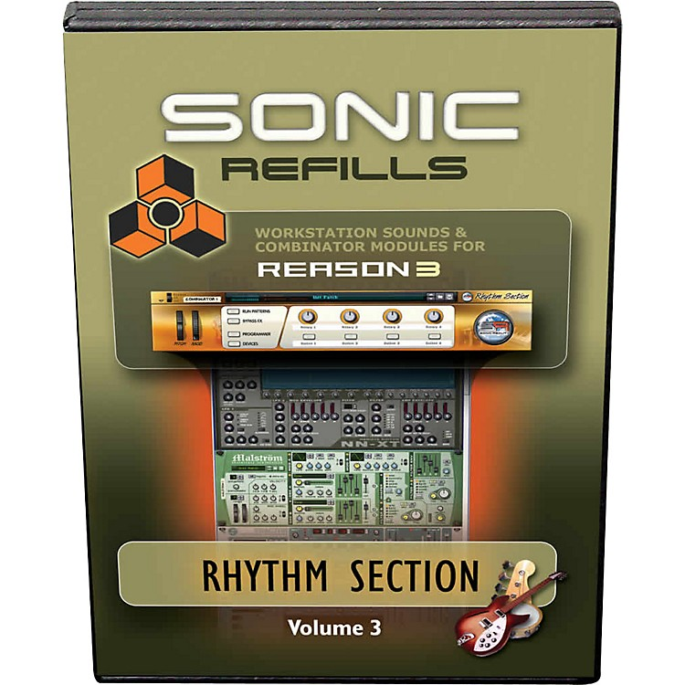 Sonic Reality Reason 3 Refills Vol. 03: Rhythm Section
