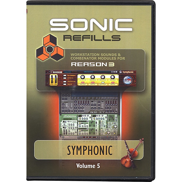 Sonic RealityReason 3 Refills Vol. 05: Symphonic