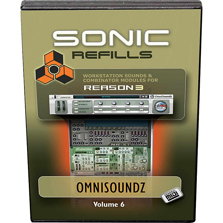 Sonic Reality Reason 3 Refills Vol. 06: OmniSoundz GM