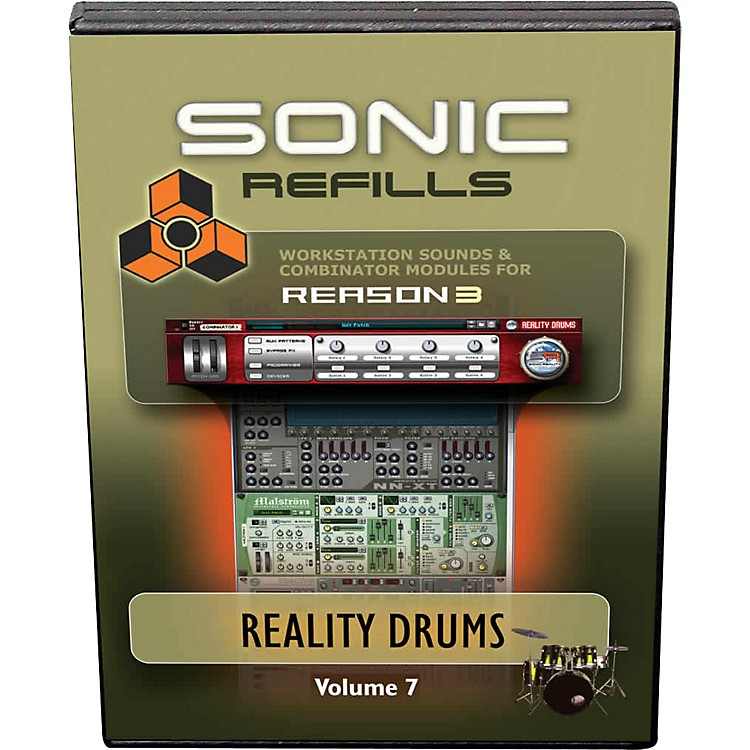 Sonic RealityReason 3 Refills Vol. 07: Reality Drums