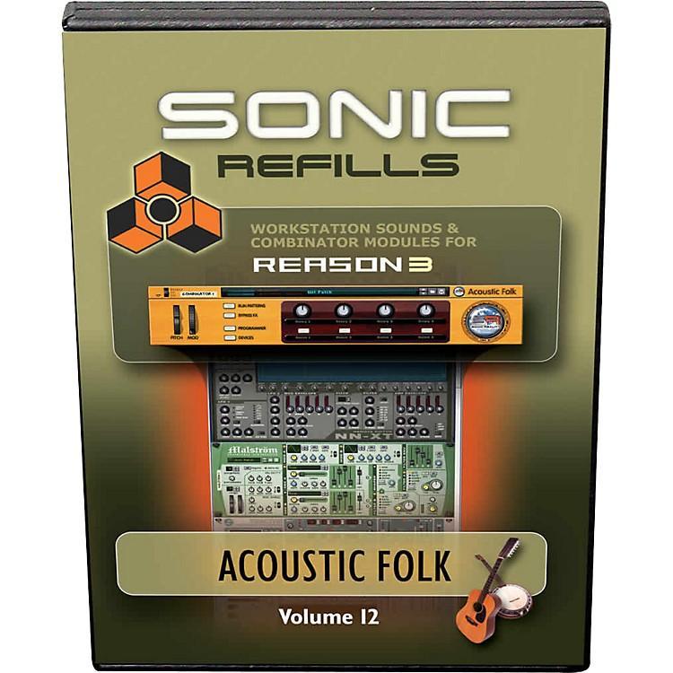 Sonic RealityReason 3 Refills Vol. 12: Acoustic Folk