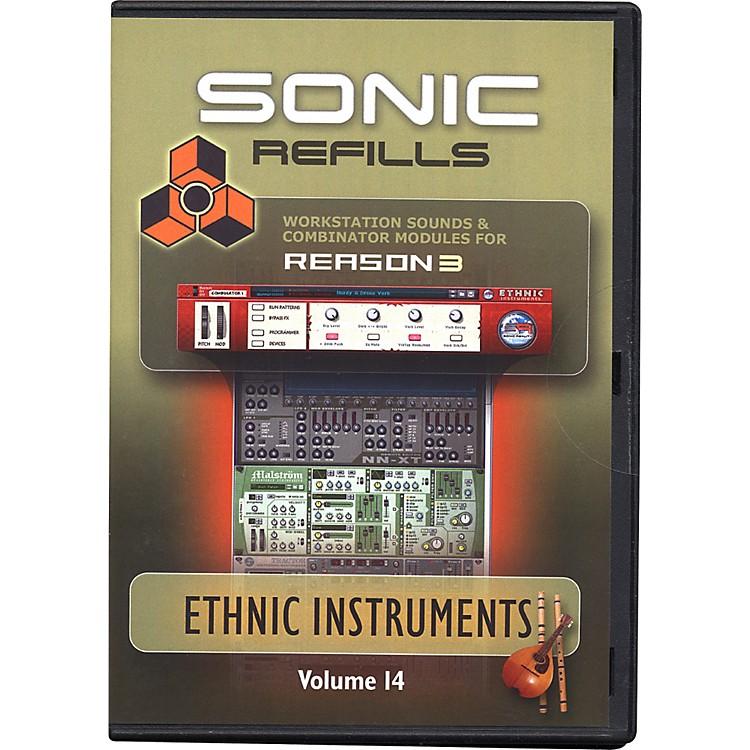Sonic RealityReason 3 Refills Vol. 14: Ethnic Instruments