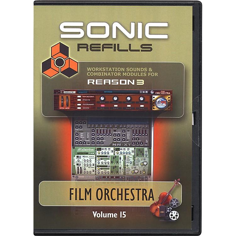 Sonic RealityReason 3 Refills Vol. 15: Film Orchestra