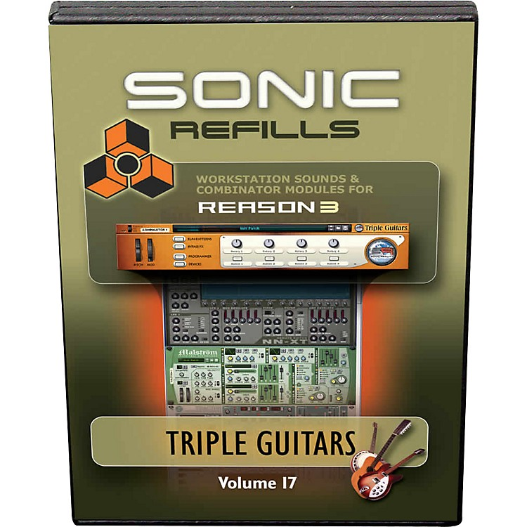 Sonic Reality Reason 3 Refills Vol. 17: Triple Guitars