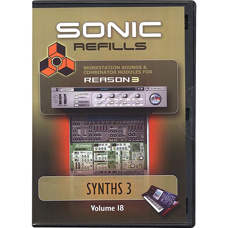 Sonic RealityReason 3 Refills Vol. 18: Synths 3