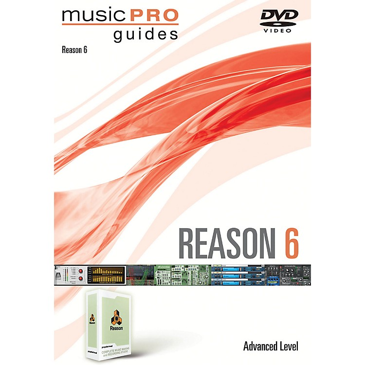 Hal Leonard Reason 6 Advanced Music Pro Guides DVD