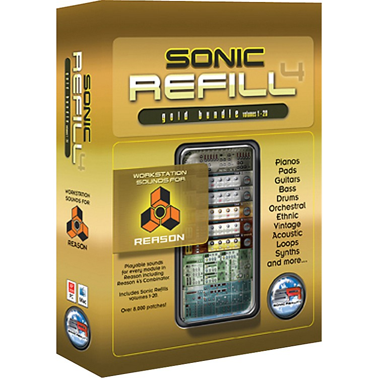 Sonic Reality Reason Sonic Refills - Gold Bundle