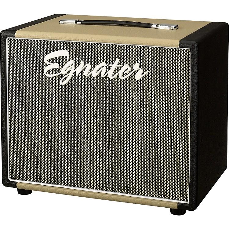 EgnaterRebel 112X 1x12 Guitar Extension CabinetBlack And Beige