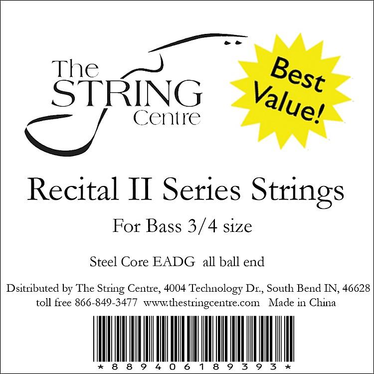 The String CentreRecital II Bass String Set