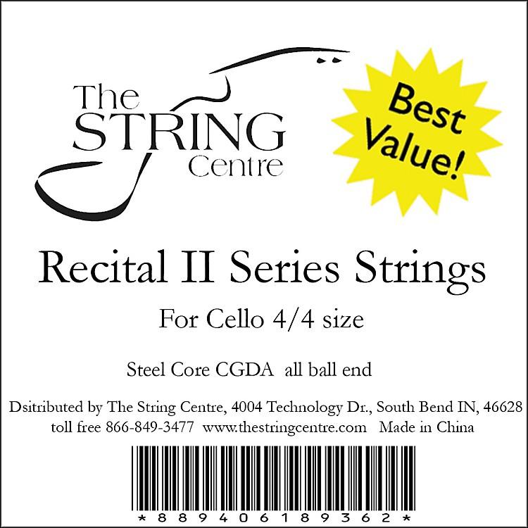 The String CentreRecital II Cello String Set1/2 Sizeset