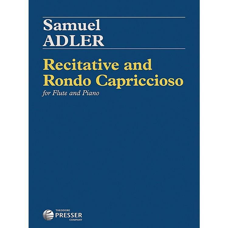 Carl FischerRecitative and Rondo Capriccioso - Flute with Piano