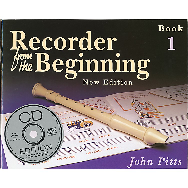 Music Sales Recorder From the Beginning: Book and CD 1