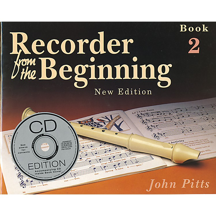 Music SalesRecorder From the Beginning: Book and CD 2