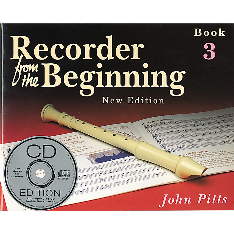 Music SalesRecorder From the Beginning: Book and CD 3