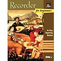 Alfred Recorder for Beginners Book/CD