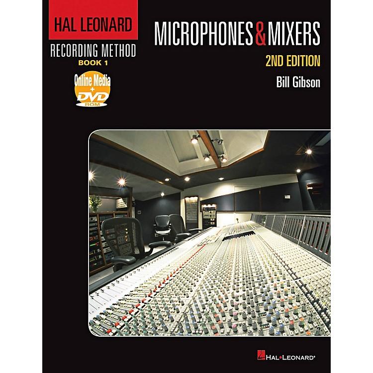 Hal LeonardRecording Method - Book 1: Microphones & Mixers - 2nd Edition Book/DVD-ROM