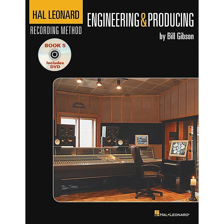 Hal LeonardRecording Method Book 5: Engineering & Producing (Book/DVD)
