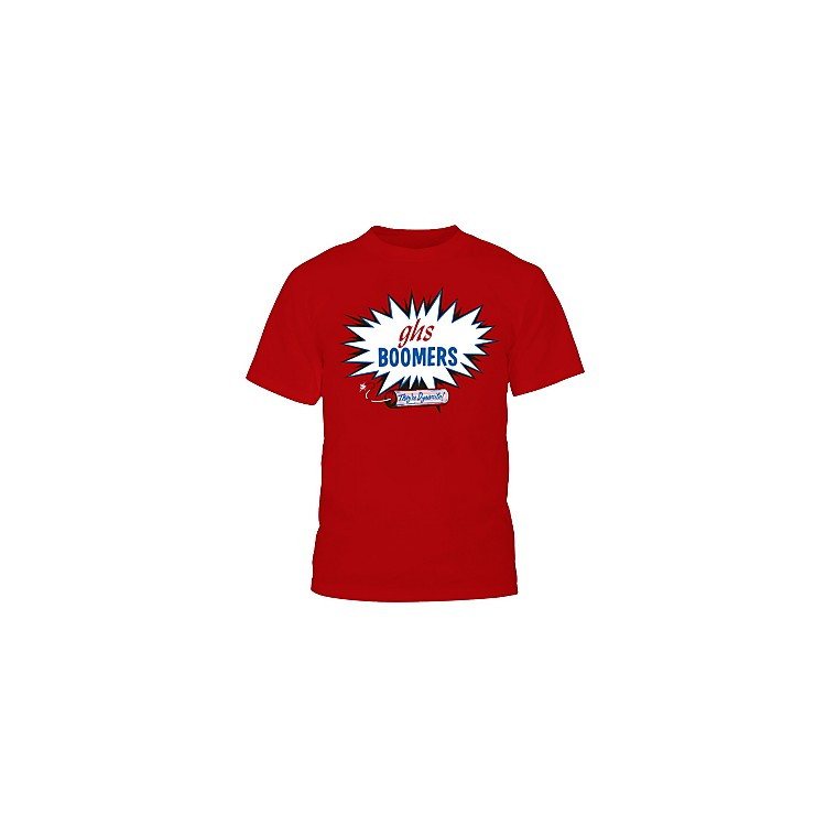 GHS Red Boomers T-Shirt XXL