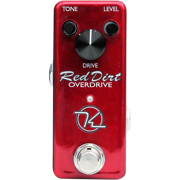 KeeleyRed Dirt Mini Overdrive Guitar Effects Pedal