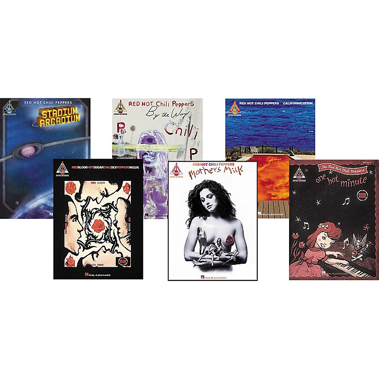 Hal LeonardRed Hot Chili Peppers Complete Guitar Tab Library