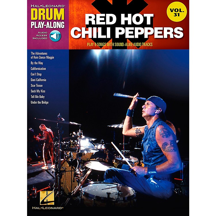 Hal LeonardRed Hot Chili Peppers Drum Play-Along Vol. 31 (Book/CD)