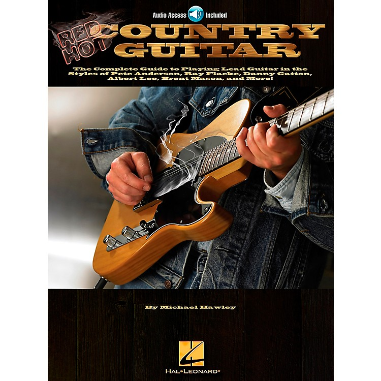 Hal LeonardRed Hot Country Guitar (Book and CD Package)