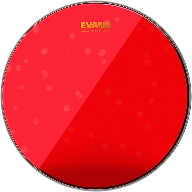 Evans Red Hydraulic Bass Drum Head 22 in.