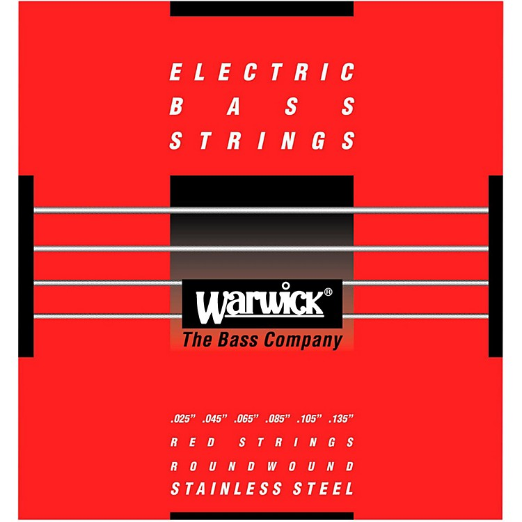 WarwickRed Label 6-String Stainless Steel Bass Strings