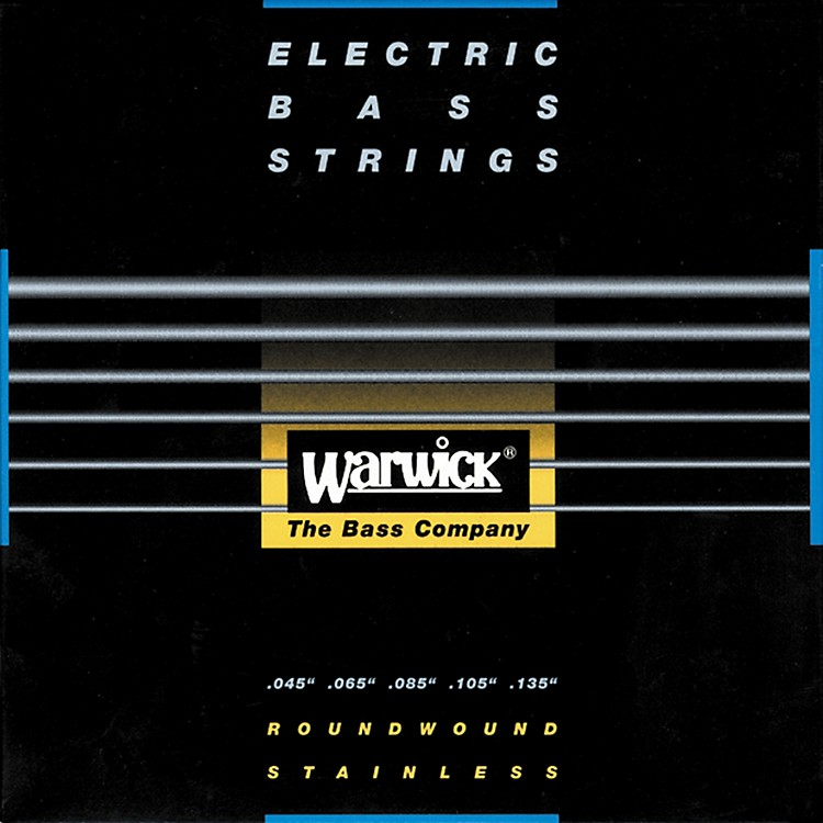 WarwickRed Label Stainless Wound Medium 5-String Bass Strings