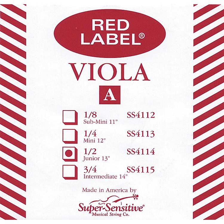 Super SensitiveRed Label Viola A StringJunior