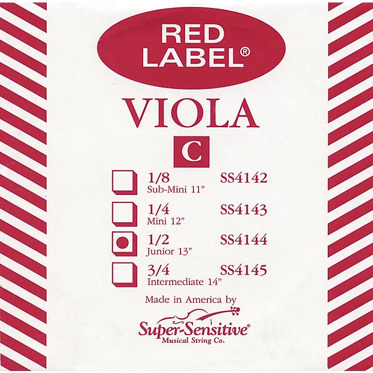 Super SensitiveRed Label Viola C StringJunior