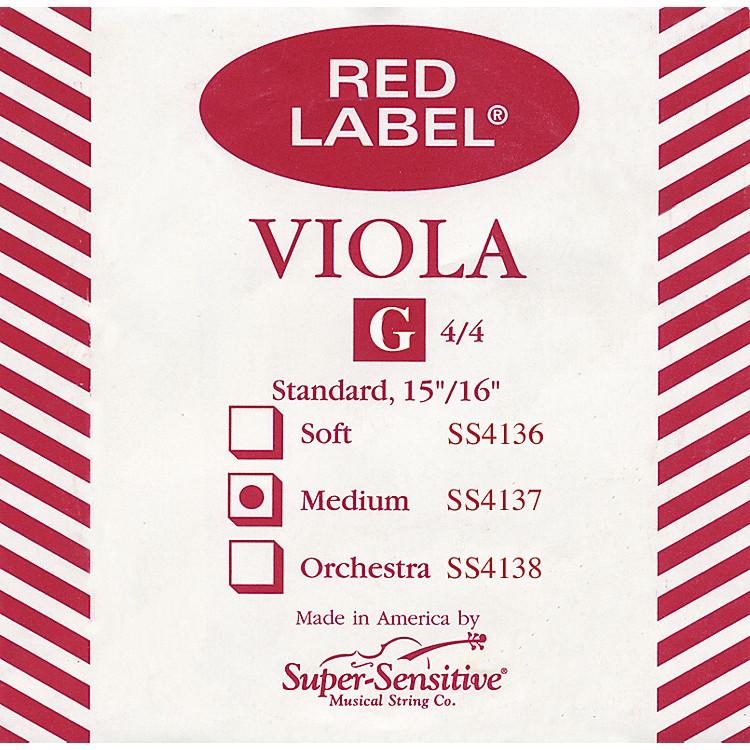 Super SensitiveRed Label Viola G StringFull