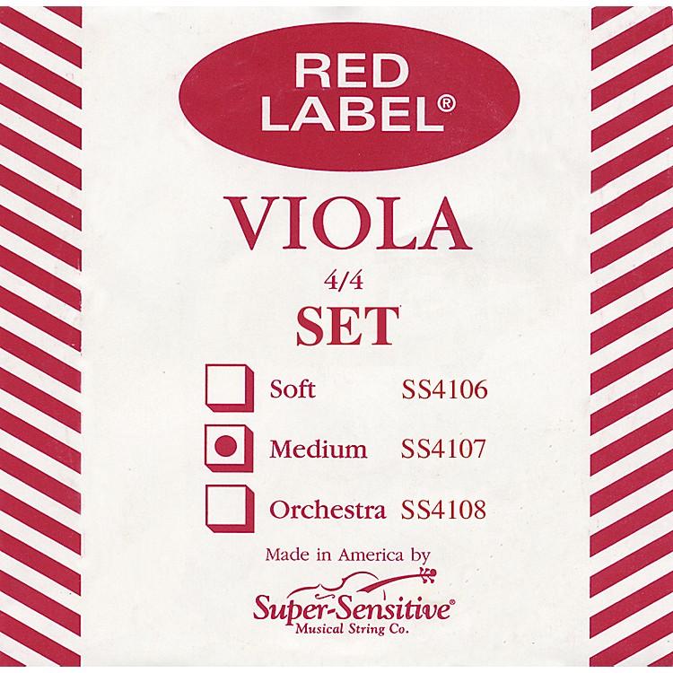 Super SensitiveRed Label Viola String SetMini (12-in.)