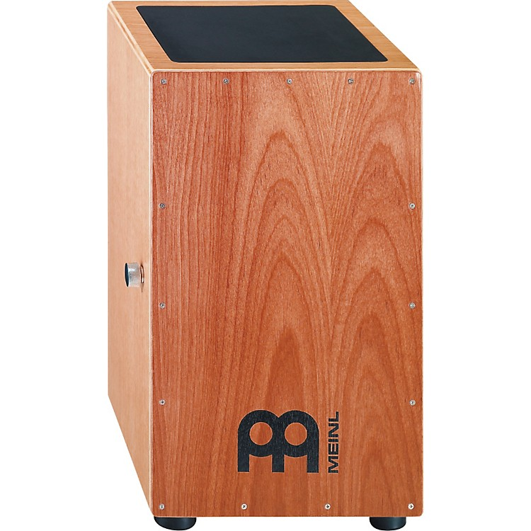 MeinlRed Oak Snare Cajon with Cherry Front plate