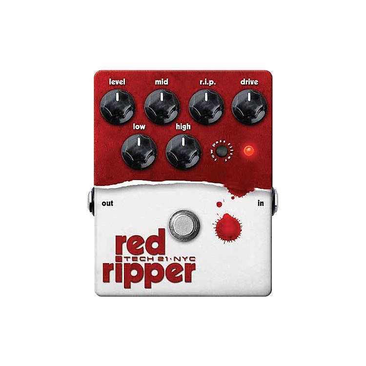 Tech 21Red Ripper Distortion Bass Effects Pedal