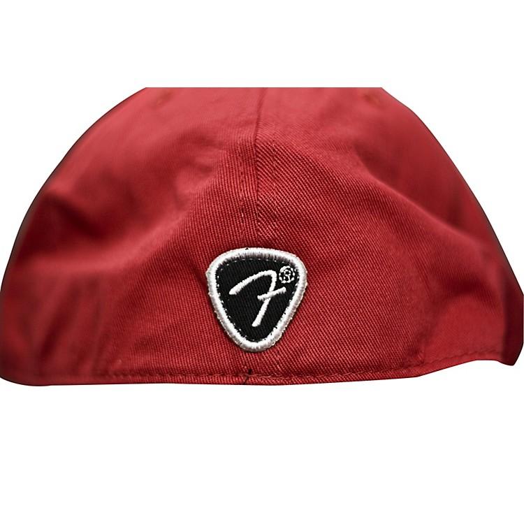 FenderRed Script Logo Stretch Cap