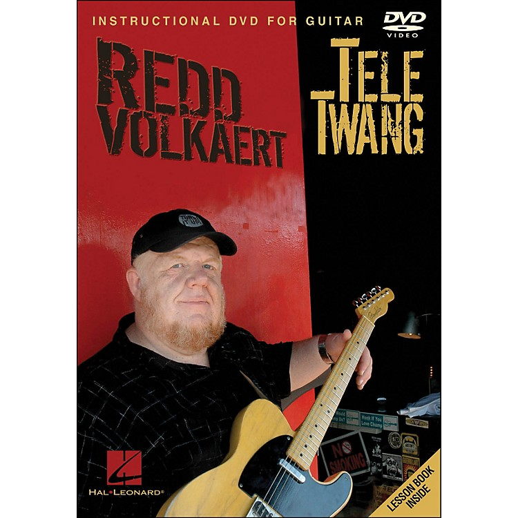 Hal LeonardRedd Volkaert Tele Twang - Instructional & Performance Guitar DVD