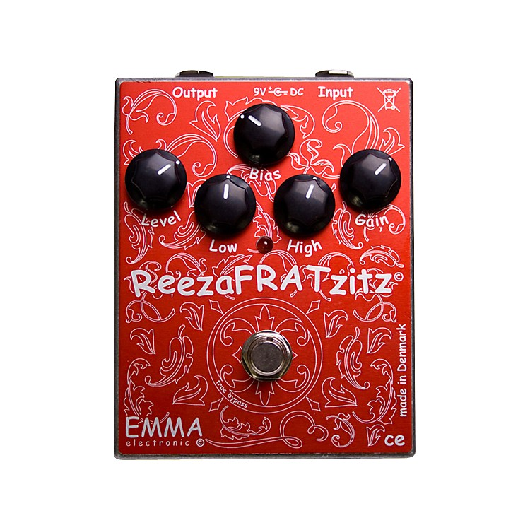 Emma ElectronicReezaFRATZzitz II Overdrive and Distortion Guitar Effects Pedal