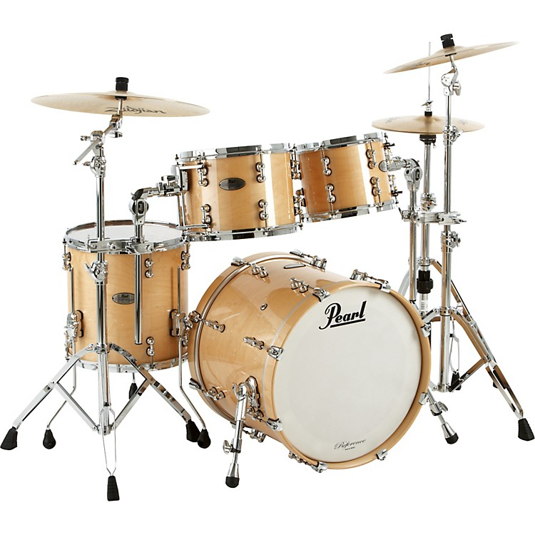Pearl Reference Pure Fusion 4-Piece Shell Pack Natural Maple