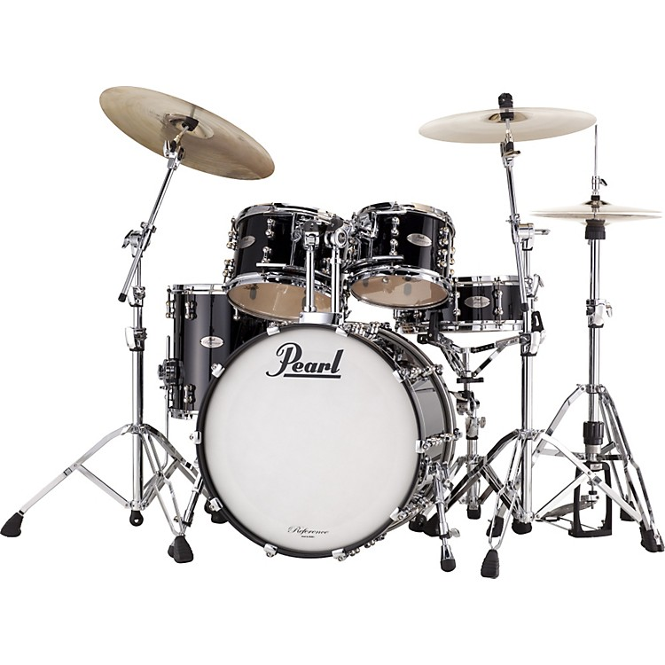 PearlReference Pure Fusion 4-Piece Shell PackPiano Black
