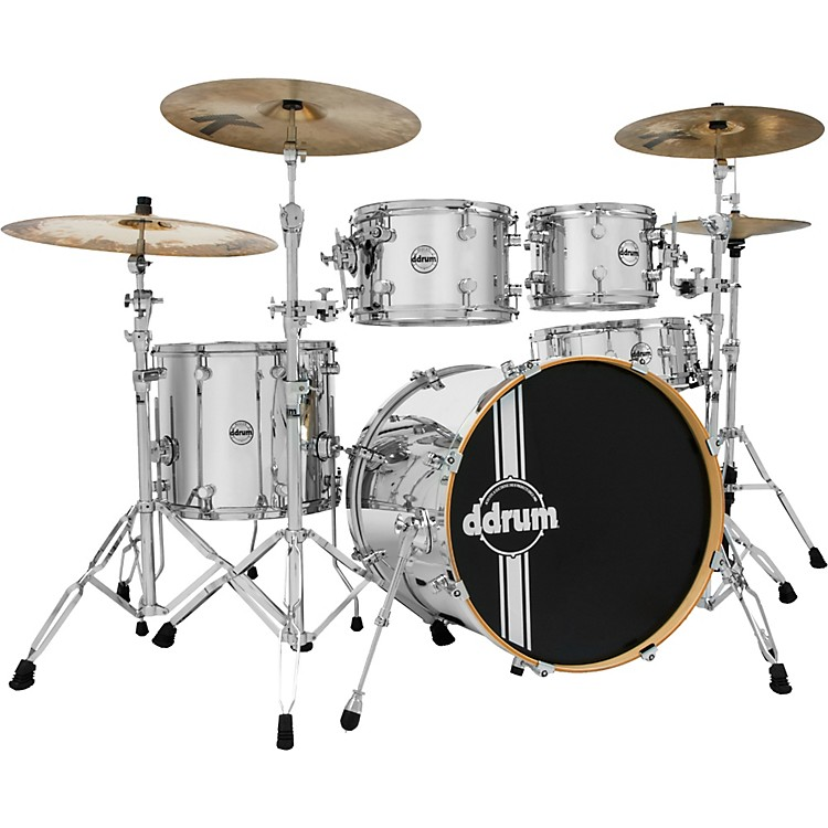 Ddrum Reflex Chrome 5-Piece Shell Pack