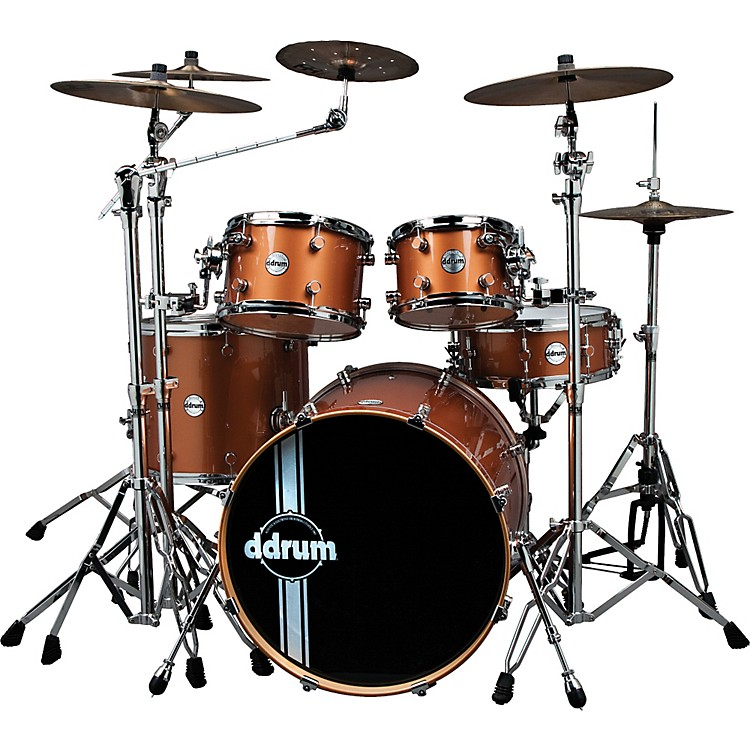 ddrum Reflex Custom 5-Piece Shell Pack GREY BUBBLE