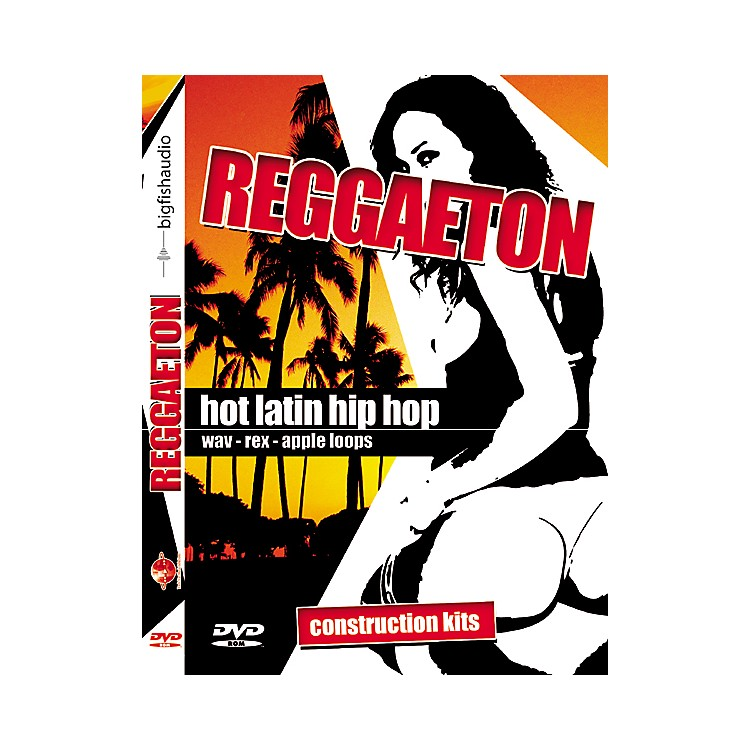Big Fish Reggaeton Hot Latin Hip Hop Sample Library DVD