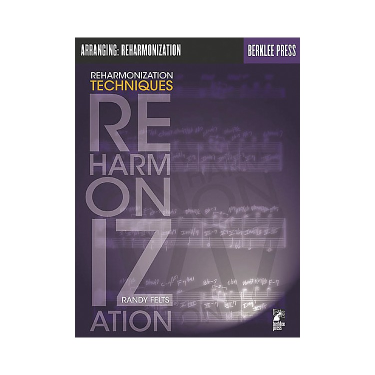 Berklee Press Reharmonization Techniques Book