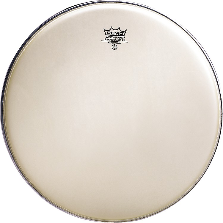 Remo Renaissance Emperor, Crimplock Marching batter Head 13 in. Renaissance