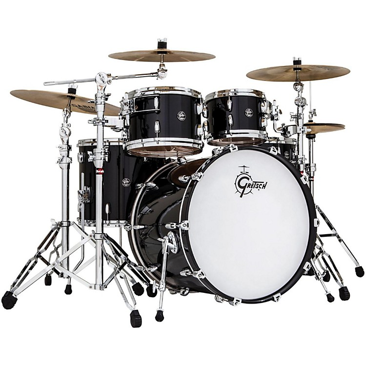 Gretsch Drums Renown Birch 4-Piece Euro Shell Pack Piano Black
