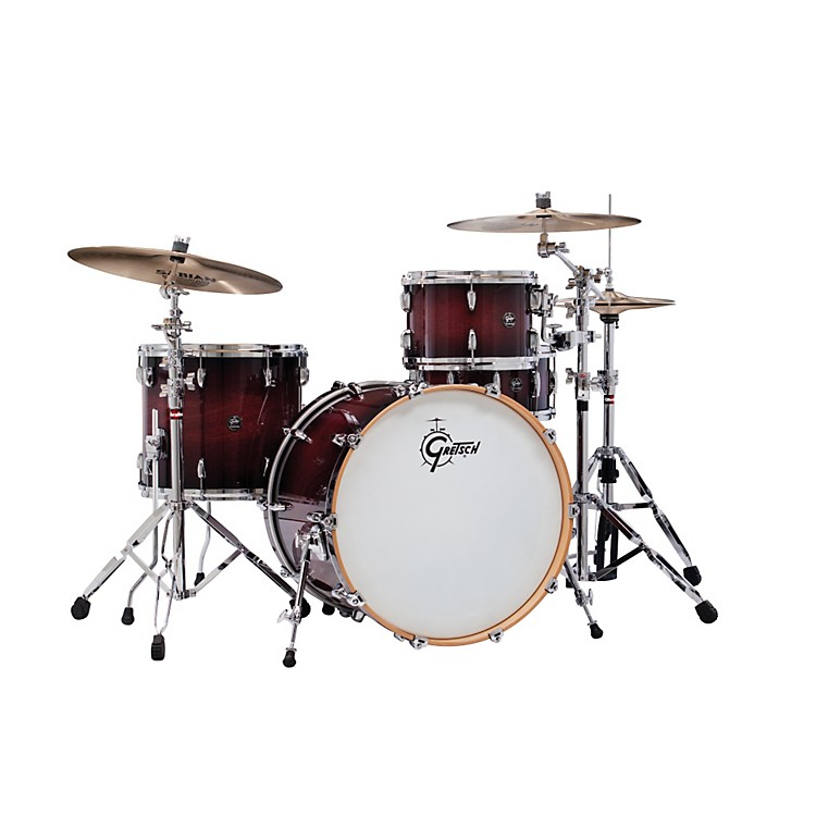 Gretsch Drums Renown Series 3-Piece Shell Pack with 22 inch Bass Drum Cherry Burst
