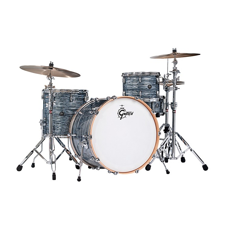 Gretsch DrumsRenown Series 3-Piece Shell Pack with 24 inch Bass DrumOyster Pearl